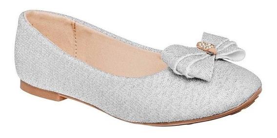 Zapato Casual Niña Dama Sexy Girl 46 Plata 12-21 A84707 T3