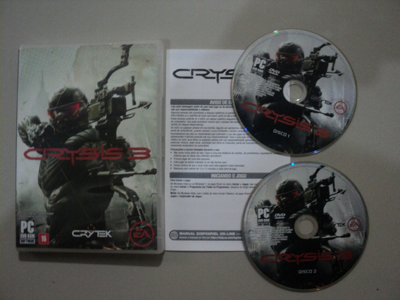 Cd Jogo Pc Original - Crysis 3 - Ea