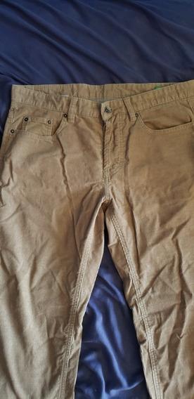 Pantalón De Pana Benetton Original *usado*