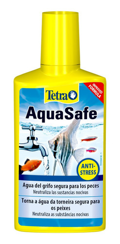 Acondicionador Para Acuarios Aquasafe Plus Tetra 250ml  (8,