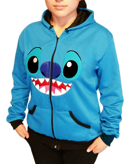 1 A Moda Stitch Chamarra Sudadera Disney Envio Gratis Hoodie