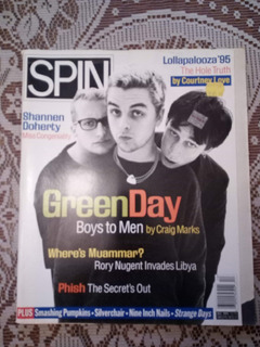Green Day Revista Spin Dic 1995