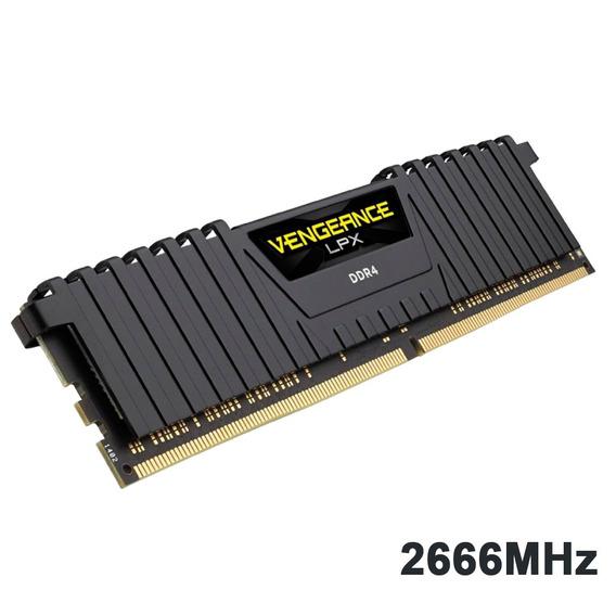 Memória Ddr4 8gb 2666mhz Corsair Vengeance Lpx Intel/amd