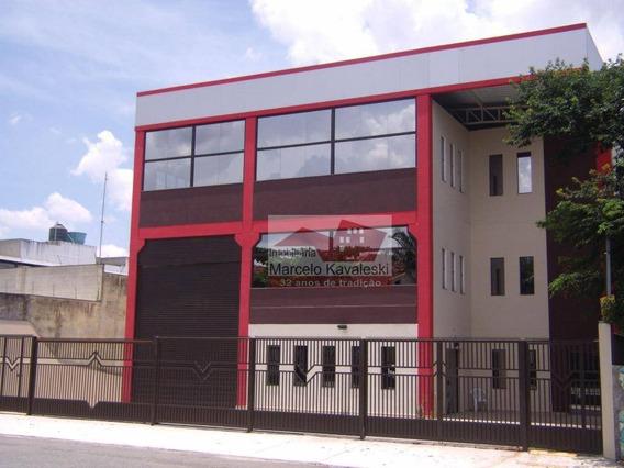 Galpão Comercial Para Locação, Vila Independência, São Paulo. - Ga0086