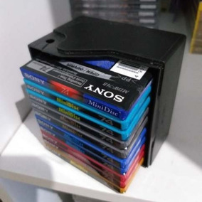 Mini Disc Sony C/ 10 Unid. Color 74 Novos Lacrados + Case :)
