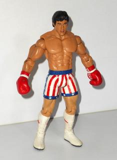 Rocky Iv - Rocky Balboa - Jakks Pacific - Impecable - Raro