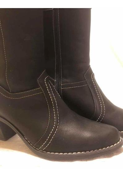 Botas Cuero Talle 38 Mujer Nueva Súper Confortable!!!