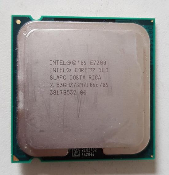 Processador 775 Intel Core 2 Duo E7200 2,53 Usado Ref: 01506