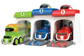 Tomy Toomies Autos Corredores Locos Wabro 2104
