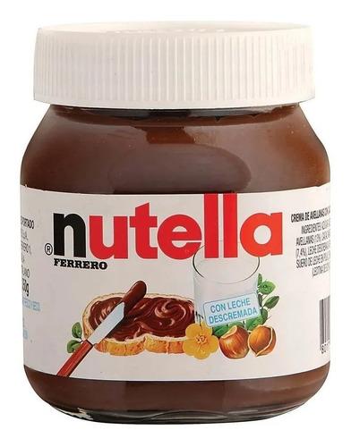 Nutella Ferrero 140g Chocolate Avellana Cacao Postre