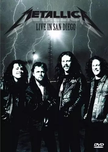 Metallica, Live In San Diego - Dvd