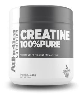 Creatine 100% Pura 300g Micronizada - Creatina - Atlhetica
