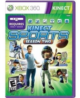 Kinect Sports Season Two Xbox 360 Blakhelmet E
