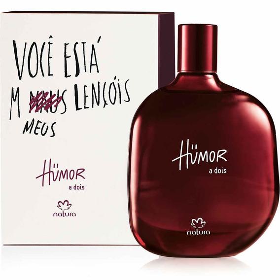 Perfume Natura Humor A Dois Masculino - 75 Ml Envio Imediato