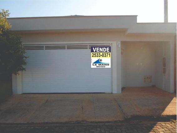Casa À Venda, 190 M² Por R$ 540.000 - Jardim Nossa Senhora Aparecida - Saltinho/sp - Ca1865