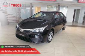 Nuevo Toyota Corolla Xli 0km En Cuotas Adjudicado
