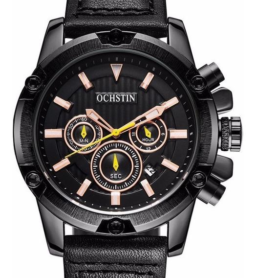Relógio Ochstin Preto/dourado