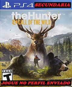The Hunter: Call Of The Wild Ps4 Original 2º Envio Hoje