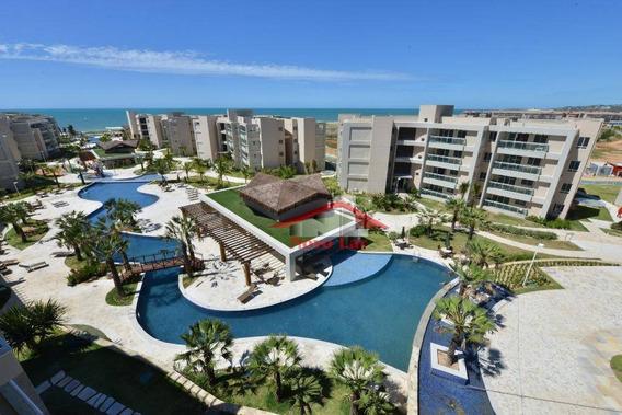 Apartamento Com 2 Dormitórios À Venda, 87 M² Por R$ 615.000,00 - Antônio Miguel - Aquiraz/ce - Ap0629