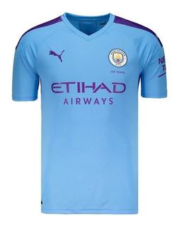 Camiseta Oficial Manchester City 2019 Mega Oferta Linda D+
