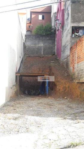 Imagem 1 de 5 de Terreno À Venda, 123 M² Por R$ 195.000,00 - Jardim Industrial - São Bernardo Do Campo/sp - Te0984