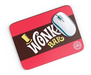 Mouse Pad Wonka - A Fantastica Fábrica De Chocolate