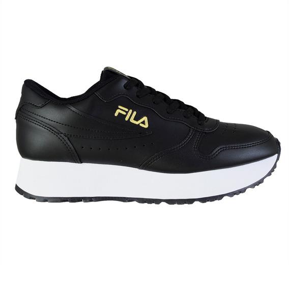 Zapatillas Fila Euro Jogger Mujer Black