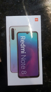 Celular Xiaomi Redmi Note 8 4gb Ram 64gb Rom Space Black