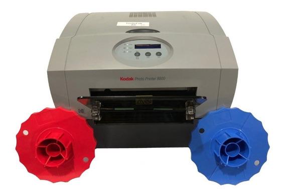Impressora Kodak 8800 + Kit Impressão Lacrado / 20x30/20x25