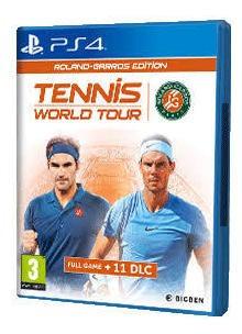 Roland Garros Edition Ps4 Mídia Física Novo Lacrado