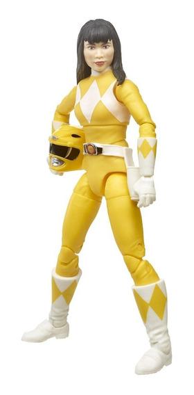 Boneco Yellow Ranger Lightning Collection Power Amarela Trin