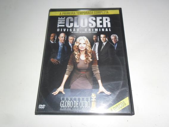 Dvd-the Closer-divisão Criminal-1* Temporada Completa