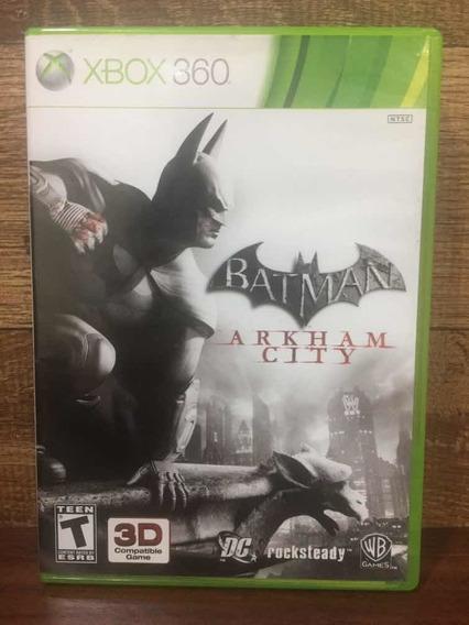Batman Arkham City Xbox 360 Mídia Física Envio Imediato