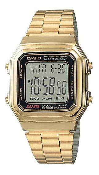 Promoção Relógio Casio Illuminator Original A178wga-1adf