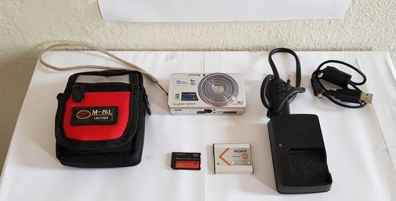 Câmera Sony Cyber-shot Dsc W520 14.4 Mega Pixels Completo