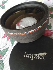 Lente Angular Impact 72mm Para Cameras Video