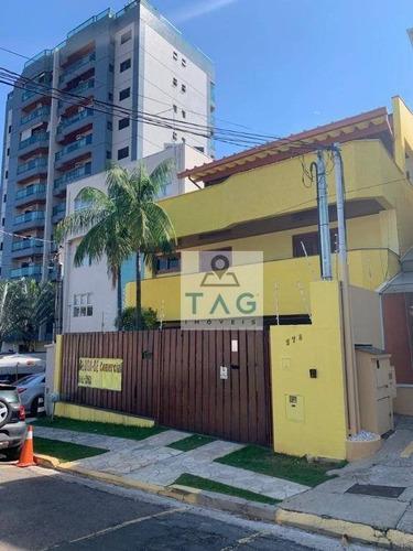 Casa Para Alugar, 550 M² Por R$ 9.000,00/mês - Grupo Residencial Do Iapc - Campinas/sp - Ca0091