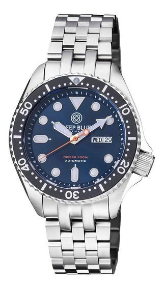 Relógio Deep Blue Nato Diver 300 Automático