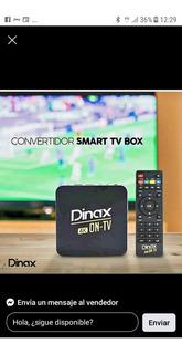 Tv Box Dinax 4k 8g Memoria Interna