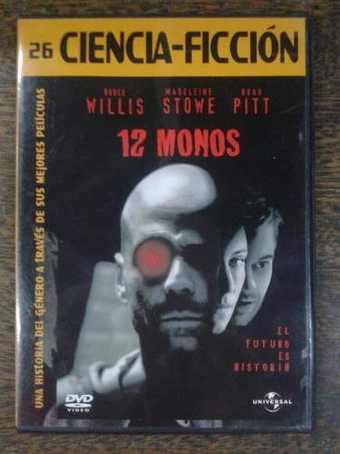 12 Monos (1995) * Dvd * Ciencia Ficcion *
