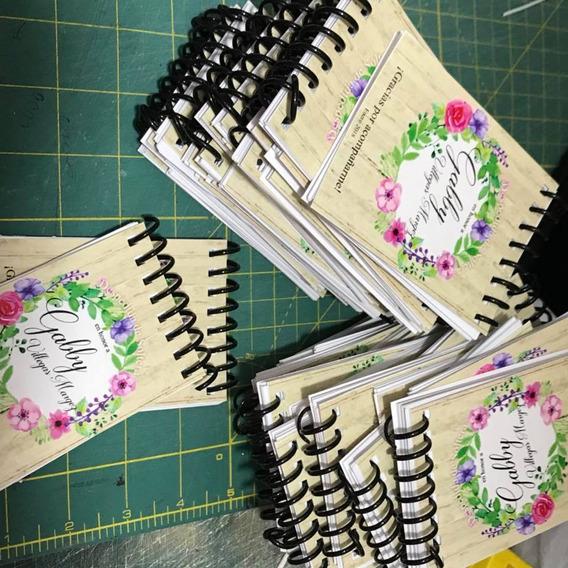 Mini Libreta Cuaderno Personalizado 40 Hojas 7x10cm Recordat