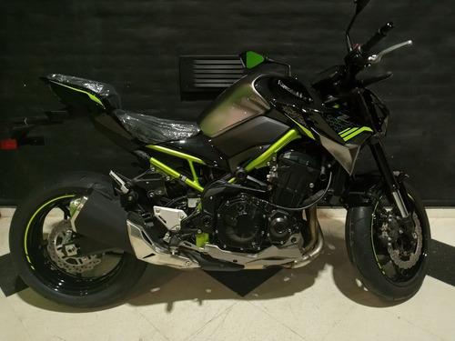 Motocicleta Kawasaki Z900 2021 0km Verde
