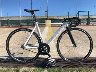 Bicicleta Aventon Mataro Low T52 (fixie / Fixed) Blanco Mate