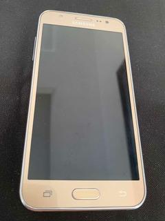 Celular Samsung J5 Dourado 16gb Dual