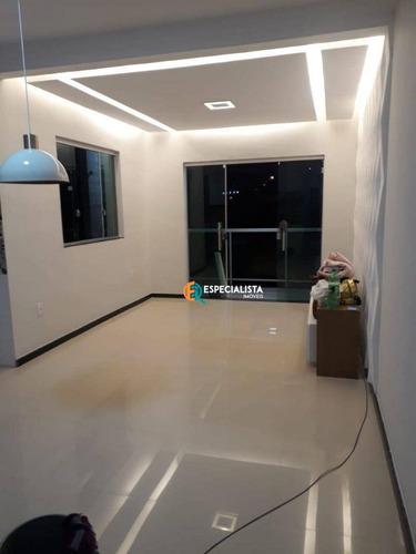 Casa Com 2 Quartos Com Suite 82 M² Por R$ 275.000 - Novo Centro - Santa Luzia - Ca0283