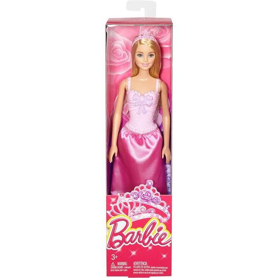Barbie Loira Princesa Básica Reinos Mágicos- Mattel Dmm07