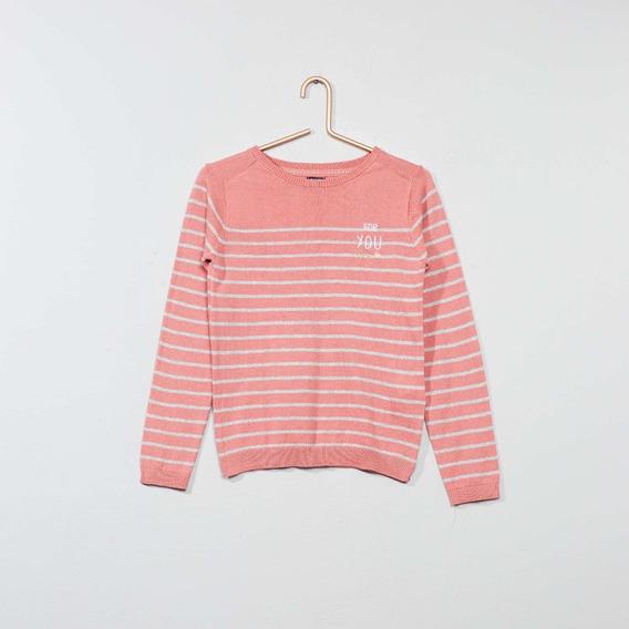 Suéter Niña Importado Kiabi Talla 8 25 Ve R D E S