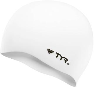 Gorra De Baño Tyr Wrinkle-free Silicone Swim Cap Blanca