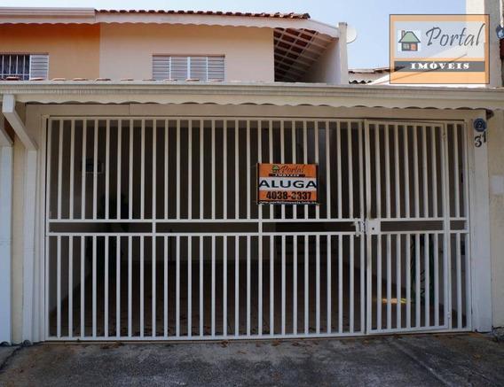 Casa Com 2 Dormitórios Para Alugar Por R$ 1.200,00/mês - Jardim Vista Alegre - Campo Limpo Paulista/sp - Ca0471