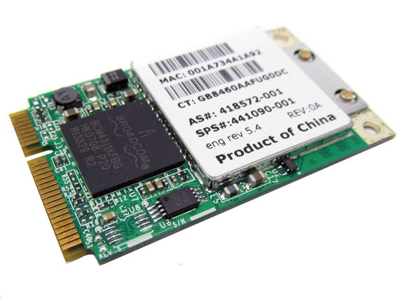 Placa Wireless Wifi Para Notebook Hp 441091-002
